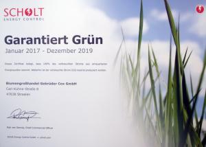 gruenstrom-zertifikat